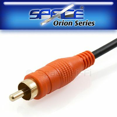 1m Digital Coaxial (S/PDIF) Audio RCA Cable 99.99% OFC 24k Gold Plated
