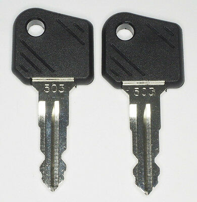 2x Ignition Key 503 Stapler - Jungheinrich - Fork-Lift Truck Ant - High Lift