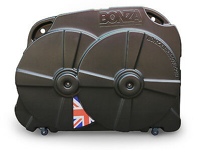 Bonza Bike Box II - Hard Travel Case (Black)