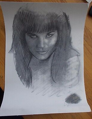 Xena Warrior Princess limited edition picture  no.11 of 25 12x16.5inches 30x42cm