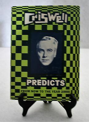 CRISWELL PREDICTS 1st Edition/1st Print 1968 Droke House Psychic