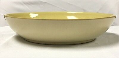 Denby Fire Pasta Bowl Yellow - USED - Discontinued Item