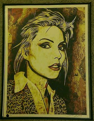 Debbie Harry / Blondie • Shepard Fairey: Rare Limited Sold Out Screen Print