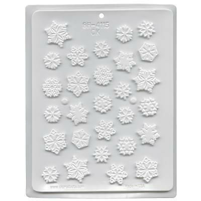 Snowflakes Hard Candy Mould
