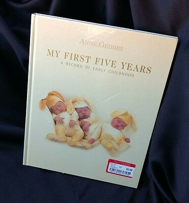 Anne Geddes My First Five Years A Record of Early Childhood Keepsake Book New