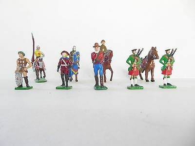 Toy soldiers - Mix of old lead soldiers 40mm- 38mm