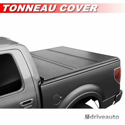 Lock Tri-Fold Hard Solid Tonneau Cover For 94-01 Dodge Ram 1500 6.5ft / 78in Bed