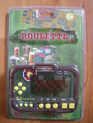 ** Electronic Casino - Roulette  ** New  And Factory Sealed **