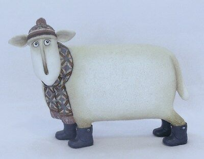 * Border Fine Arts - Ewe And Me - Jock ( Tup With Scarf )  By Toni Goffe * New *