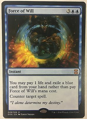 MTG Magic - [1x] FORCE OF WILL Eternal Masters - NM