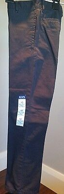 Uniform Pants in Navy Blue -Boys Slim Fit Size 10 Brand New with Tags