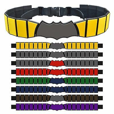 Custom Batman / Robin / Batgirl, etc Utility Belt - Choose Your Color and Size