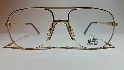 NEW Authentic LACOSTE Lamy 727/1 F 140mm Metal Frame Eyeglasses Made in France
