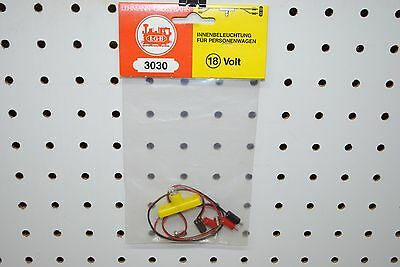 LGB 3030 (68330) 18 Volt Interior Lighting Set for Cars *G-Scale* NEW