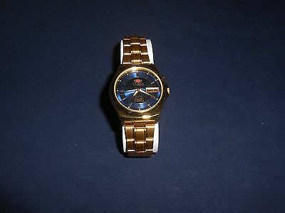 New Old Stock Vintage Orient Crystal 3 Stars 21 Jewels Automatic