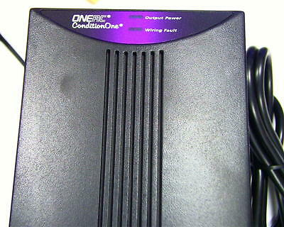 ONEAC ConditionOne Power Conditioner PC120A S2S 120v 1.5 Amp 2 Outlet.
