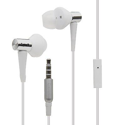 Cygnett Groove Platinum CY-3-PWM Earphones with Cable and Microphone - White