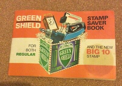 A full book of Green Shield Stamps - Big 10 Stamps