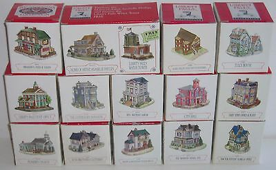 Lot of 15 Liberty Falls Buildings! - All Different (B)