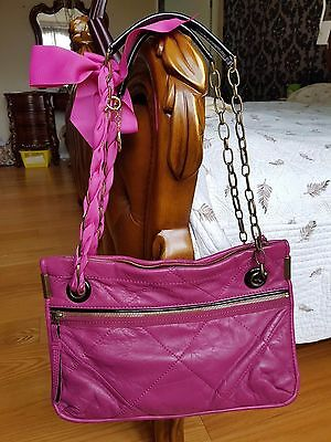 Lanvin lambskin leather Quilted Amalia Handbag chain Shoulder Bag Purse