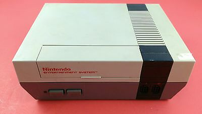 Nintendo NES System Console [System Only] Tested & Working - Fair Condition