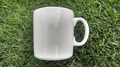 Syracuse Restaurant Coffee Mugs 8 White NOS 1971