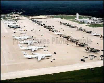 USAF Lockheed C-141 Starlifter C-130 Hercules Volant Rodeo 1981 8x10 Photos