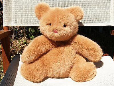 "Rare Vintage Gund - Smush Teddy Bear - 16"" - #2048 - 1985 - Very Nice"