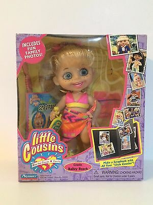 """Little Cousins Doll """"Cousin Bailey Beach"""" by Playmates Toys NRFB"""