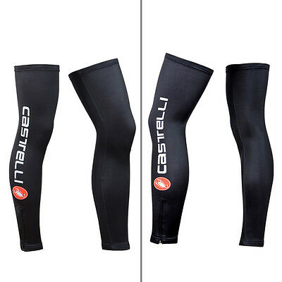 Cycling Bike Outdoor Sports Cooling Leg Warmers Cover UV Sun Protection 1 Pair