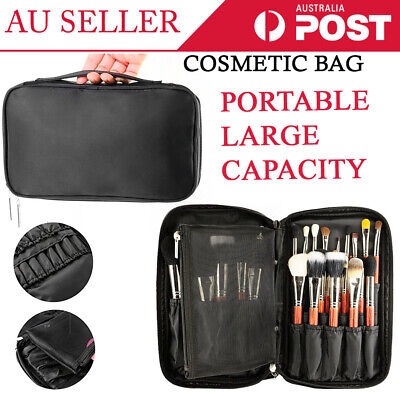 Professional Makeup Case Cosmetic Bag Storage Box Beauty Organiser Travel Carry