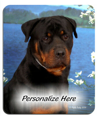 Rottweiler  ( 7 )    Personalized  Mouse Pad