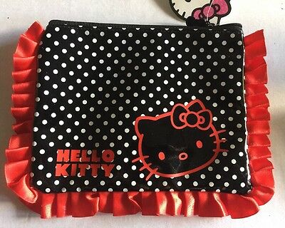 Hello Kitty mobile phone purse coins wallet card key holder with small handle