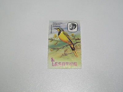 Timbre Poste Neuf Stamp TTB Lesotho Bokmakierie 1992