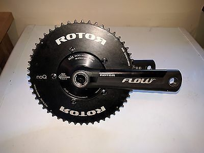 Rotor Flow MAS Aero bicycle crankset 172.5mm 52/36 110bcd