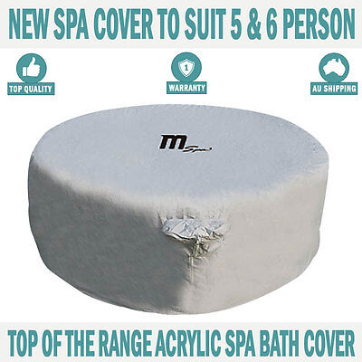 NEW MSPA Spa Acrylic Cover Suit 5 & 6 Person Spa Bath Hot Tub