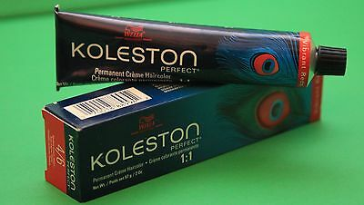 Wella Koleston Professional Hair Dye 5/4  Light Brown/ Red 2.0 Oz