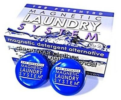 Laundry Magnets Life Miracle Patented USA. Drastically reduce detergent required