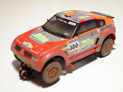 SCX Original 62650 Off Road Mitsubishi Monteiro 1/32 slot car new