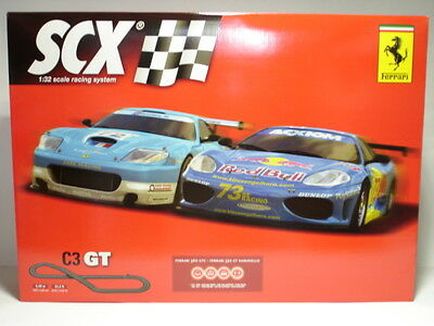 SCX 84110 Analog C3 GT Ferrari set 1/32 Scale SCX Slot