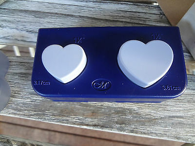Creative Memories Heart Maker Punch Used