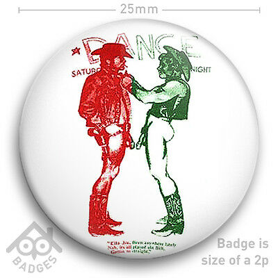 "The Sex Pistols SEDITIONARIES Vivienne Westwood COWBOYS Colour 25mm 1"" Badge"
