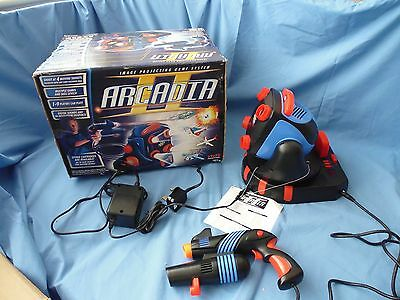 """Arcadia II. Toymax Image Projection Game """"Fighter Attack""""  retro vintage"""