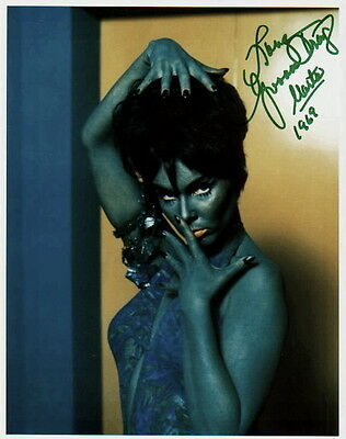 YVONNE CRAIG ~ BATGIRL & STAR TREK BABE #1 ~ SIGNED 10x8 PHOTO COA