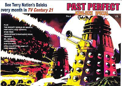 Past Perfect King-Size #4 Daleks Tv21 Gerry Anderson Stingray Fireball Xl5 Power