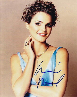 KERI RUSSELL ~ FELICITY - THE AMERICANS ~ SIGNED 10x8 PHOTO COA