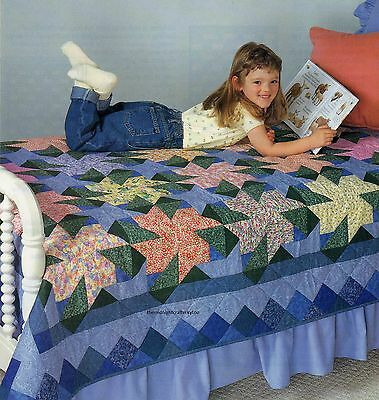 Primrose Park Quilt Pattern Pieced HD