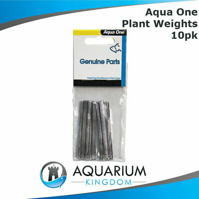 #23207 Aqua One Plant Weight 10pk 6cm - Aquarium Anchor Make Plants Sink Tank