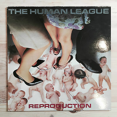 "The Human League Reproduction 12"" Vinyl LP 1979 Virgin French Pressing"