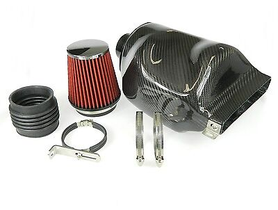 Real Carbon Airbox Air Intake System - AUDI A3 8P, VW Golf 5 6 Jetta 2.0 TDI